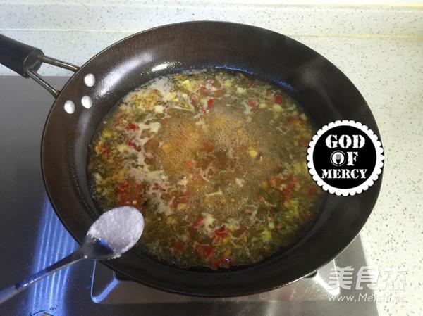 酸豆角酱牛肉汤面怎么炒