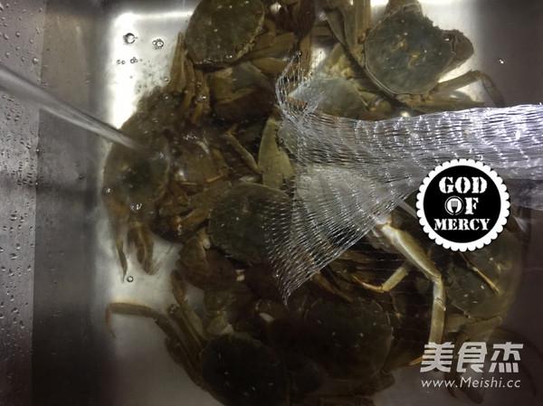 金秋美味清蒸螃蟹的做法图解
