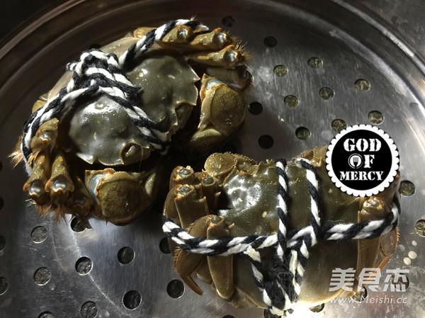 金秋美味清蒸螃蟹的简单做法