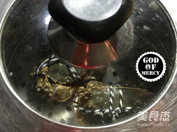金秋美味清蒸螃蟹怎么吃