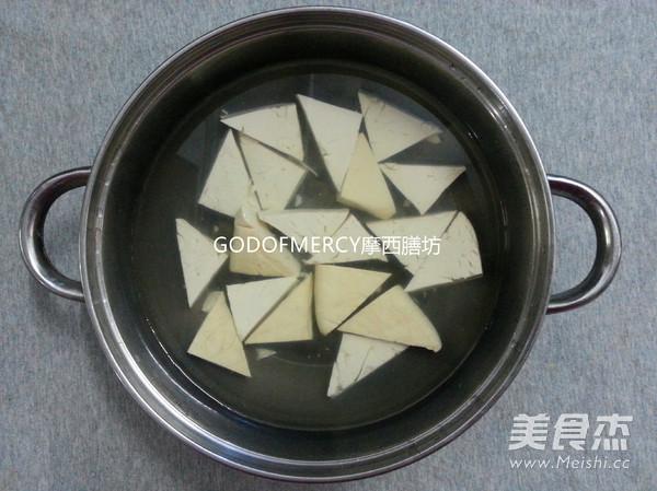 经典素食牛肉酱烧豆腐的做法大全