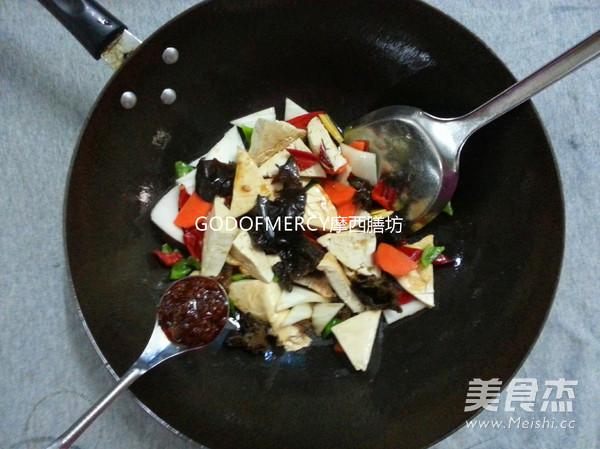 经典素食牛肉酱烧豆腐怎么做