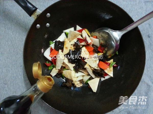 经典素食牛肉酱烧豆腐怎么炒