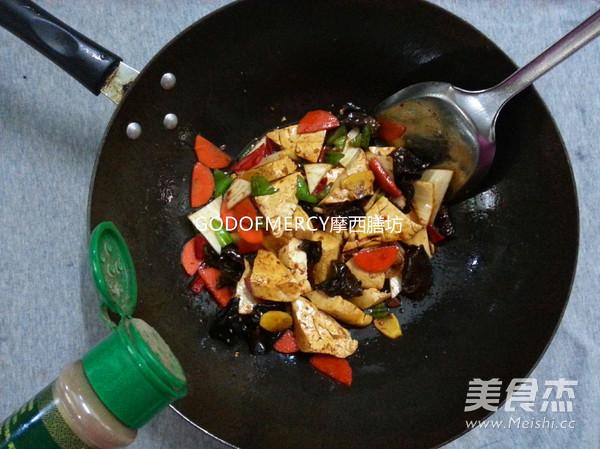 经典素食牛肉酱烧豆腐怎么煮