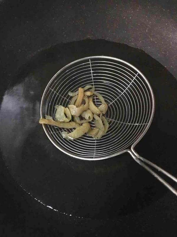 凉拌海蜇皮的家常做法