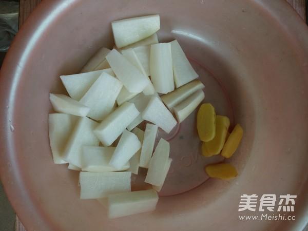 萝卜排骨汤的做法图解