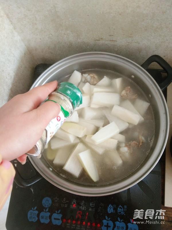 萝卜排骨汤怎么炒