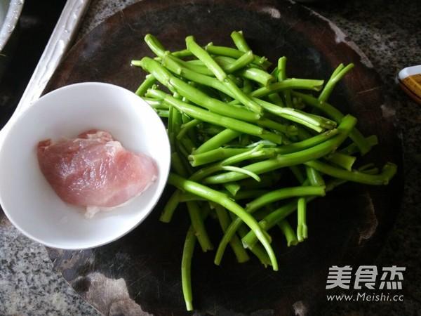 通菜梗炒肉末的做法大全