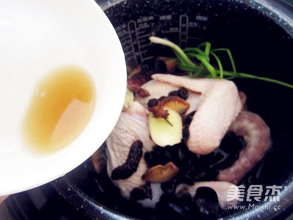 香菇炖鸡汤怎么煮