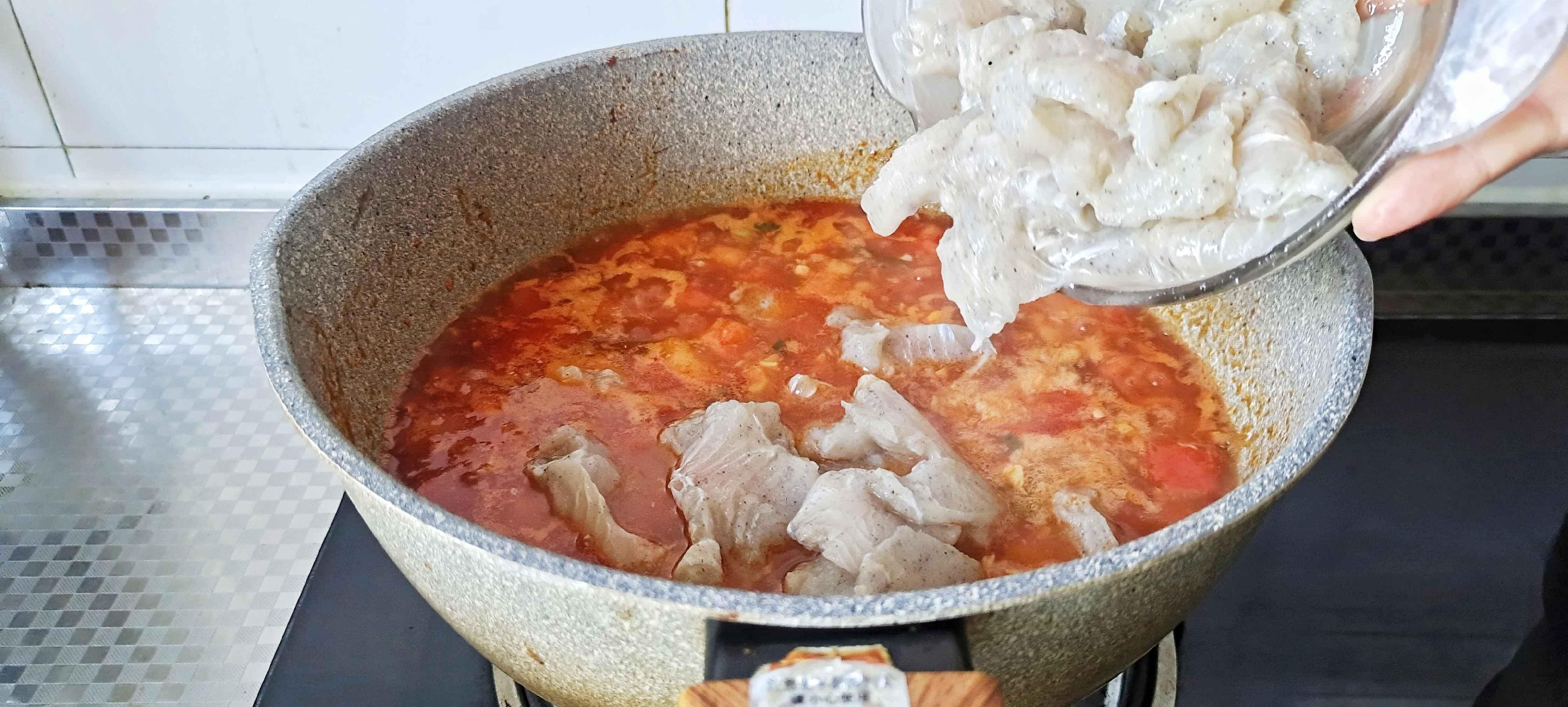 番茄巴沙鱼片怎么炒