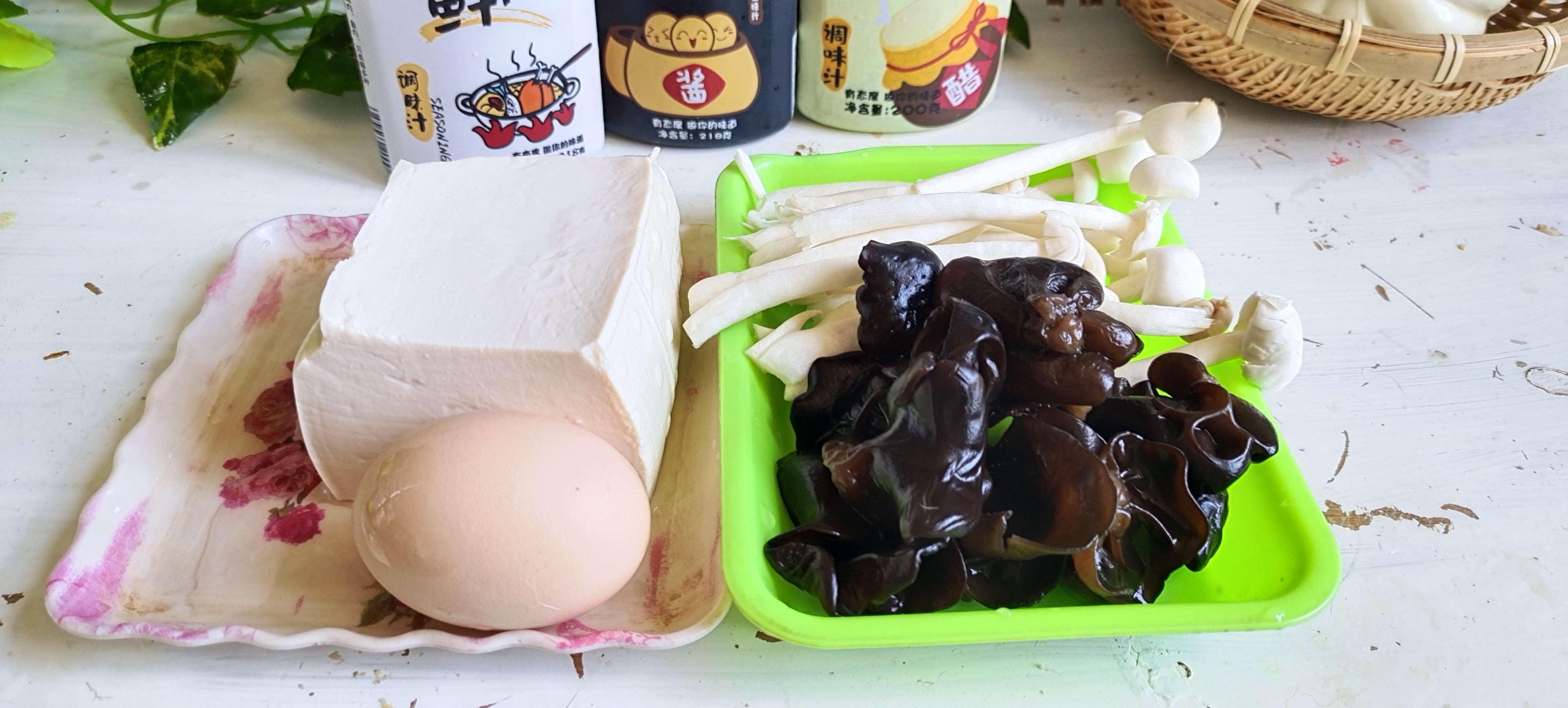 秋冬季的一碗暖身汤…酸辣豆腐羹的做法大全