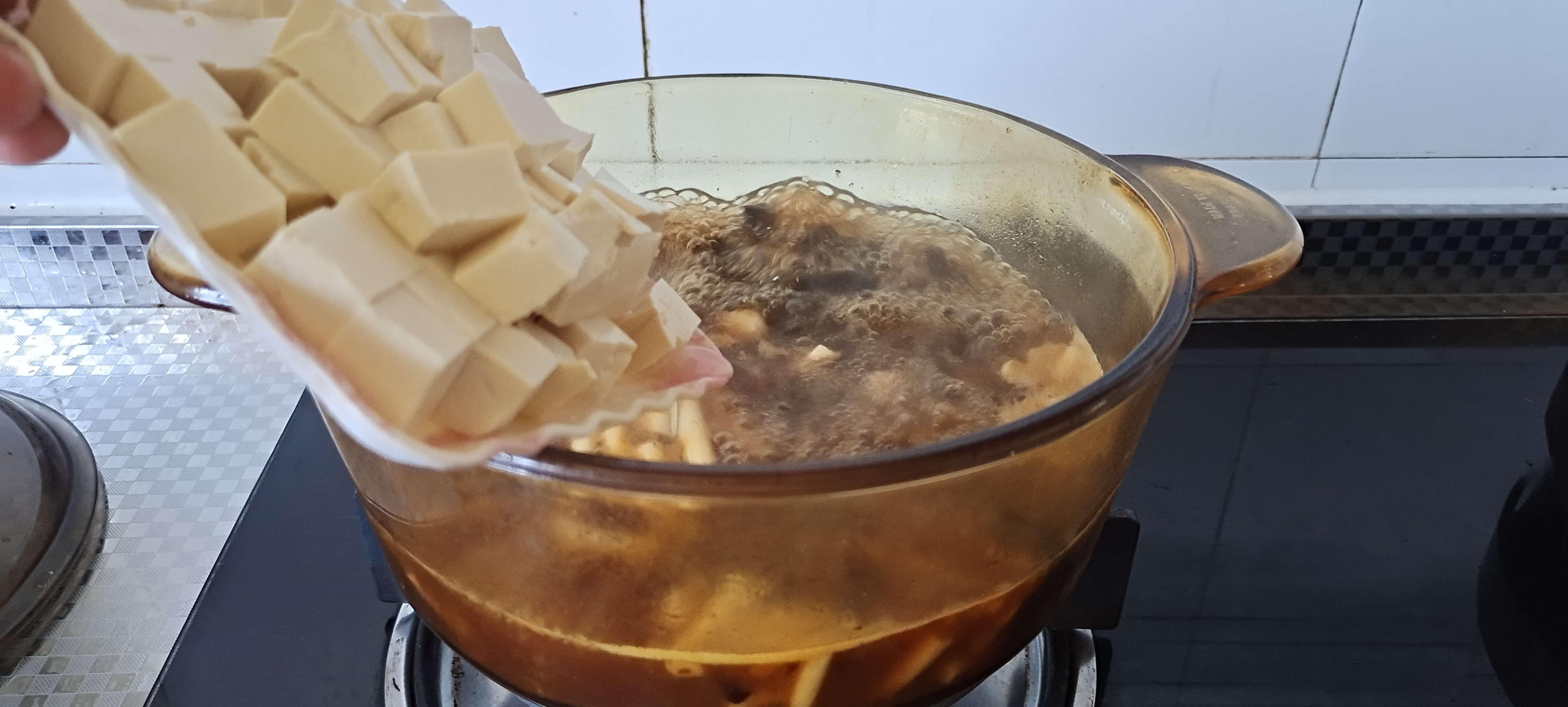 秋冬季的一碗暖身汤…酸辣豆腐羹怎么煸