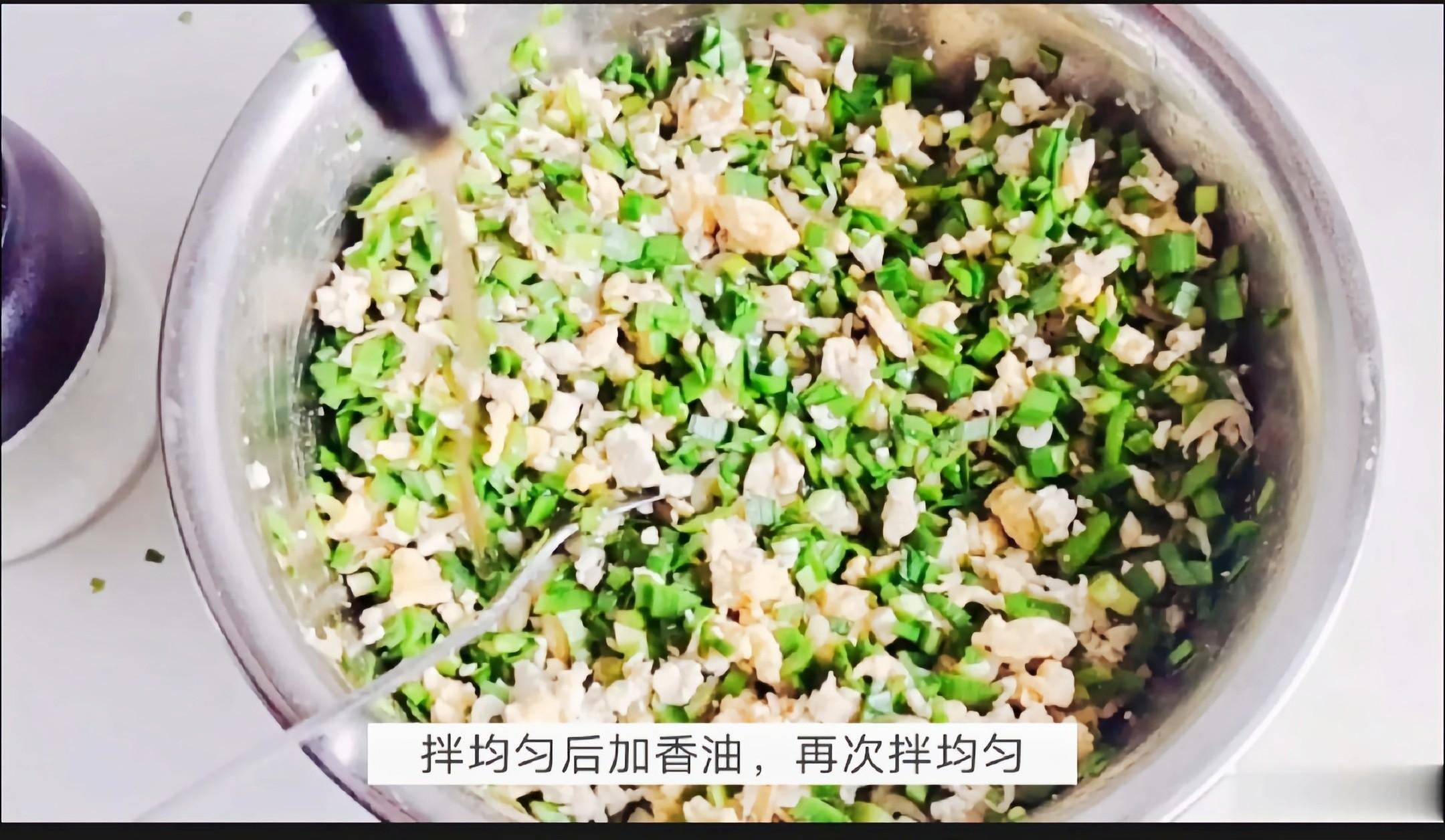经典的素馅饺子…韭菜豆腐饺子怎么炖