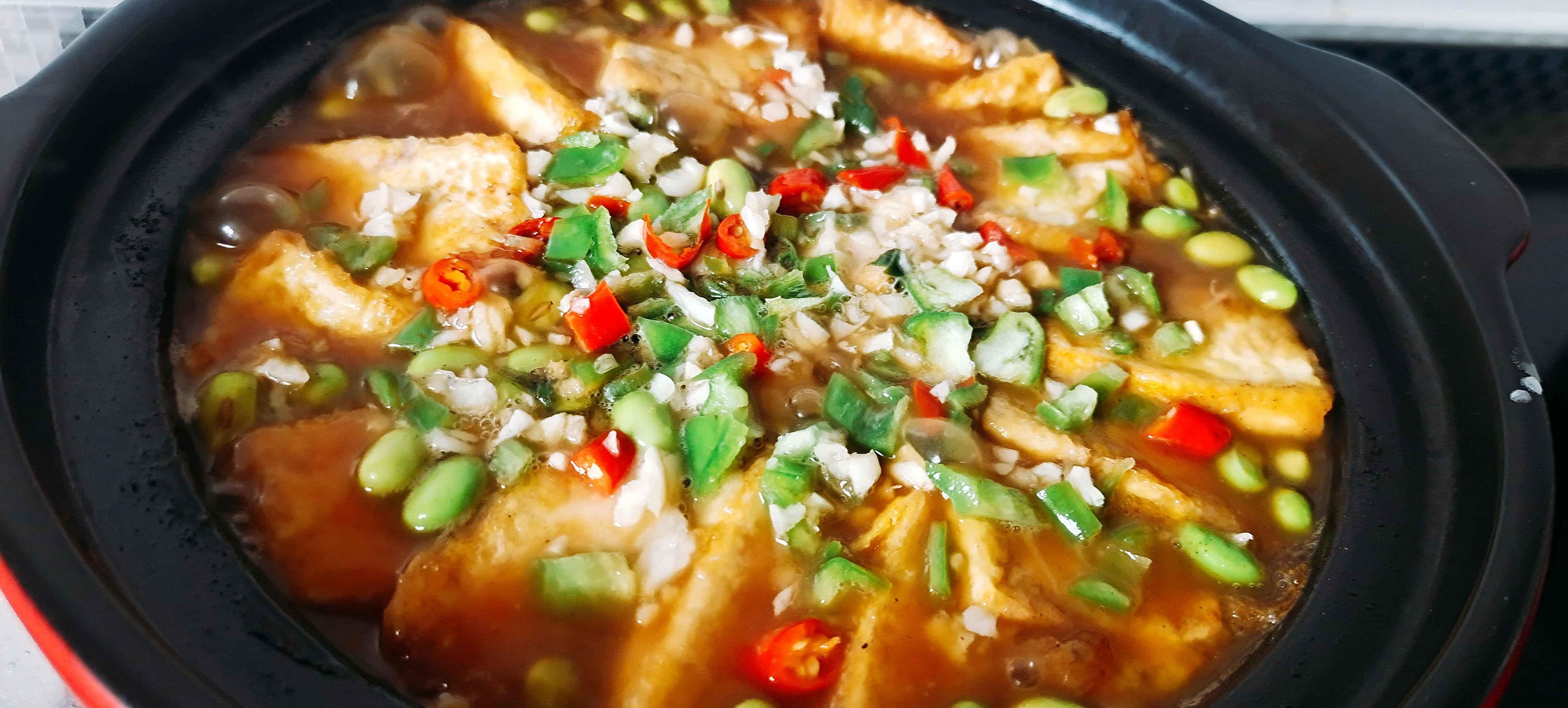 秋冬这样吃豆腐,暖身又下饭…金针豆腐煲怎样做