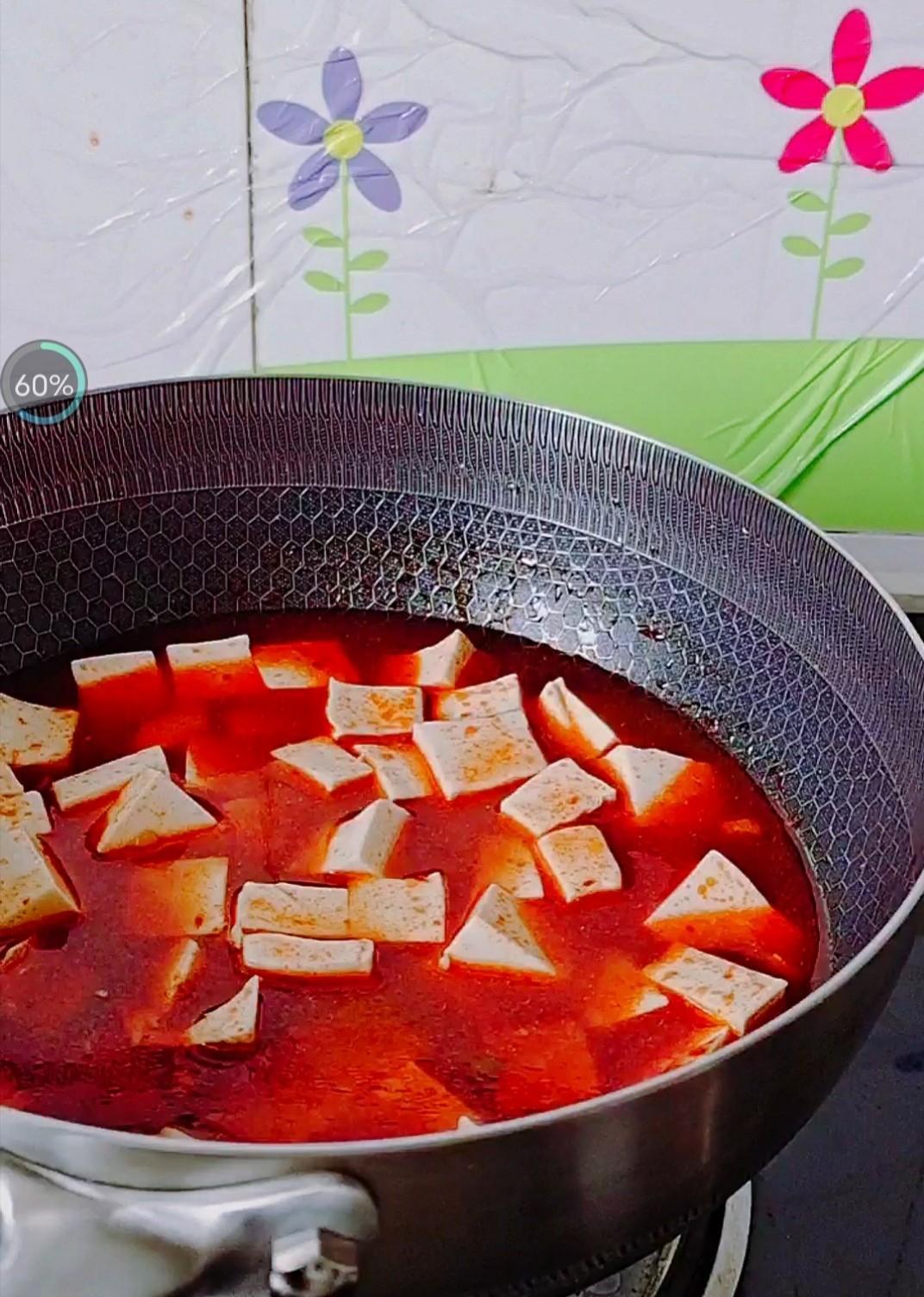 经典快手下饭菜…麻婆豆腐的步骤