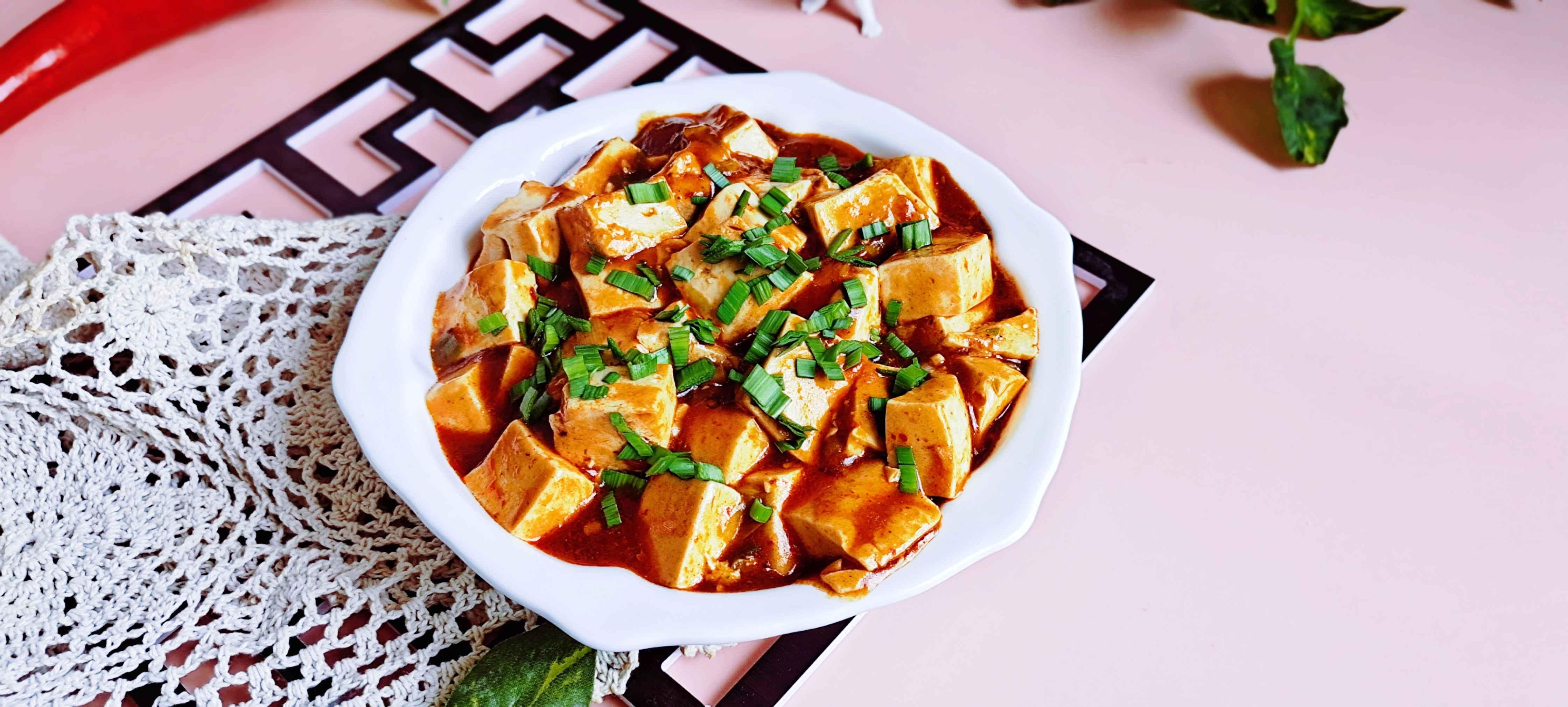 经典快手下饭菜…麻婆豆腐成品图