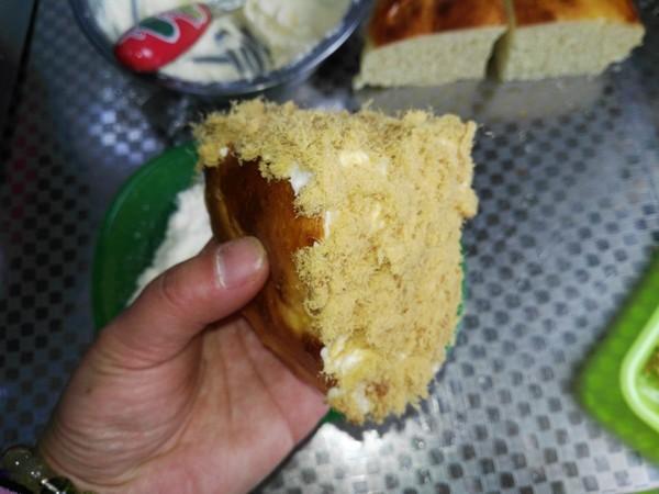 奶酪包的制作