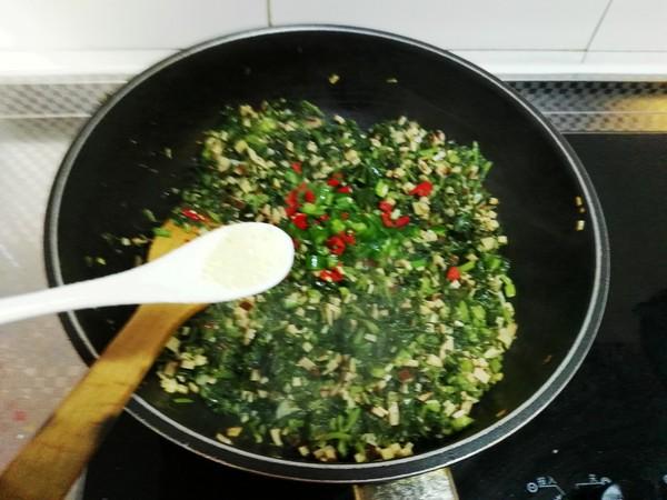 雪菜炒鸡蛋干怎么煮