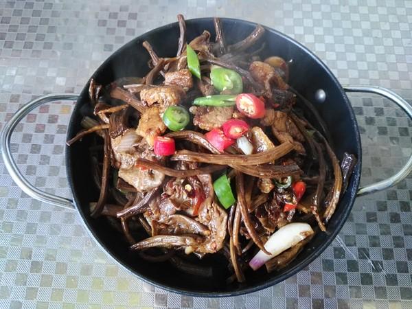 干锅茶树菇怎么炖