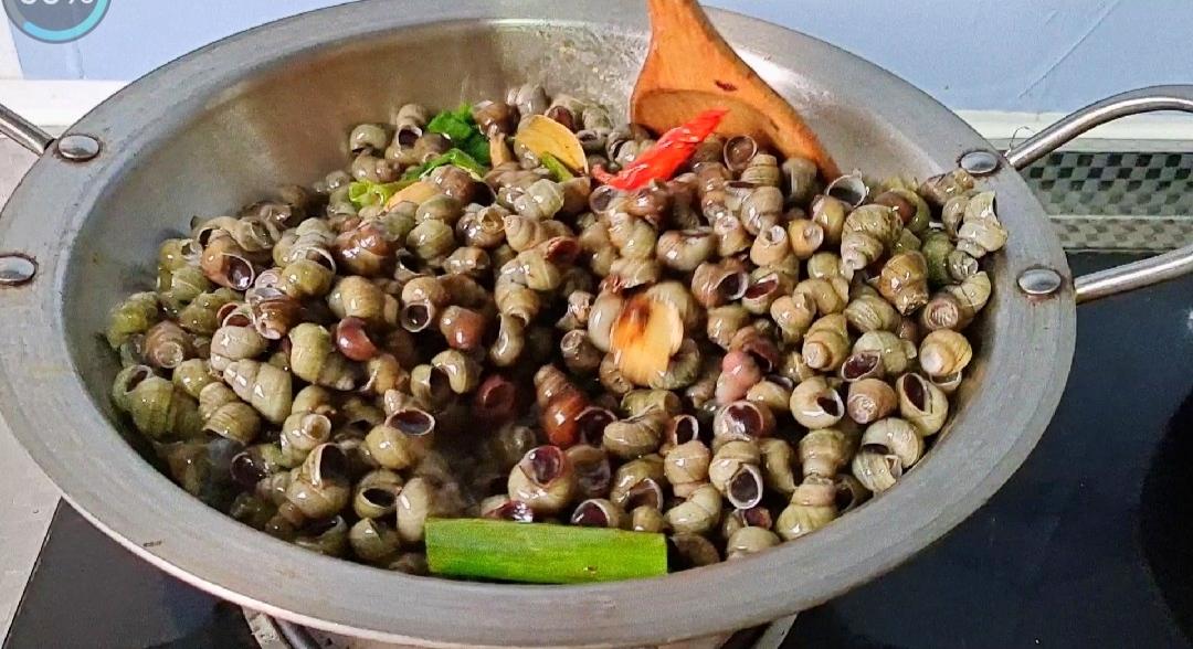 又到螺蛳季,这样做越吃越过瘾~香辣烧螺蛳的简单做法