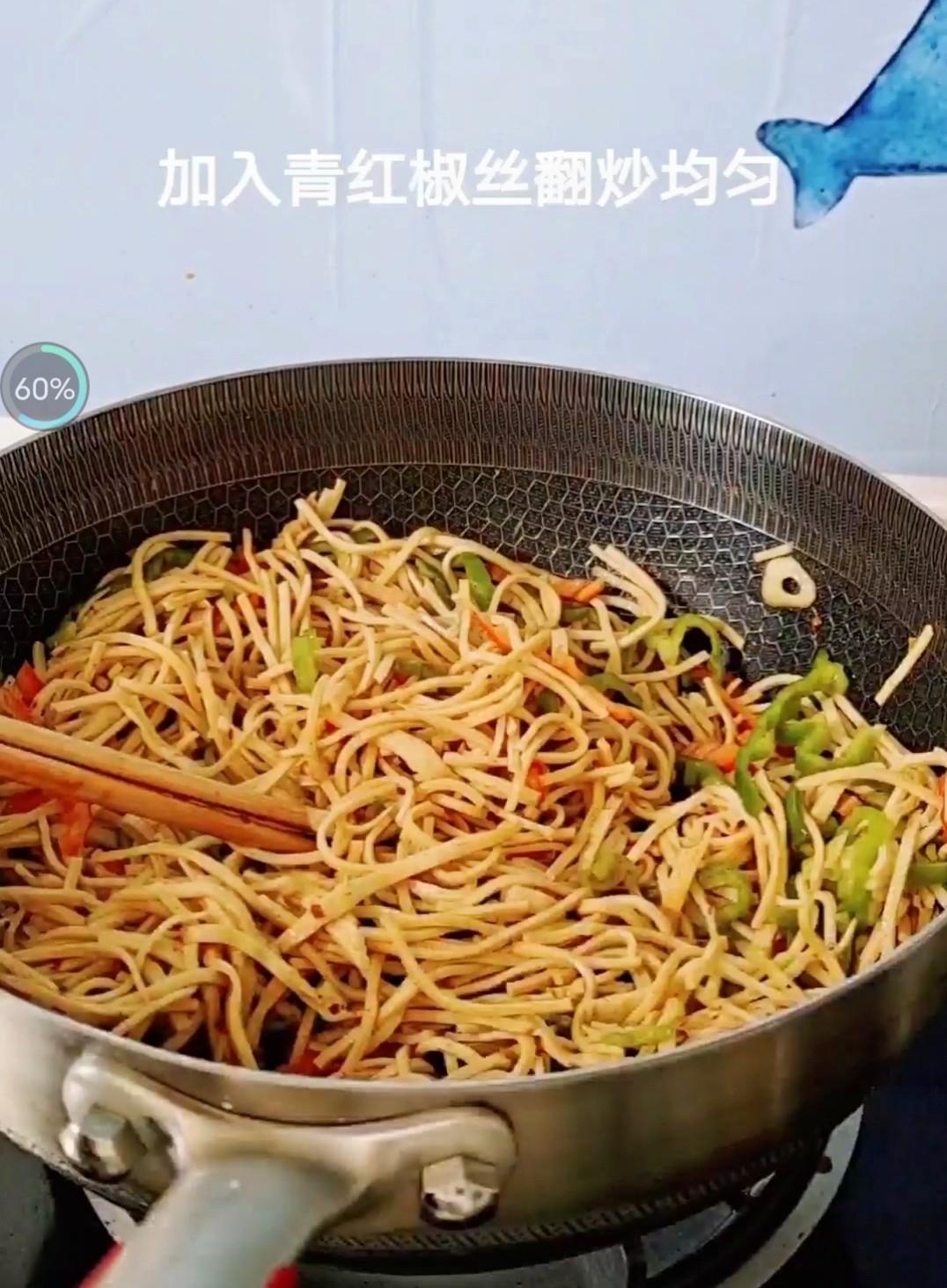 好吃又下饭的香辣尖椒豆腐丝怎么炒