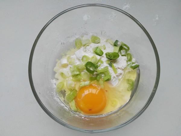 黄瓜鸡蛋早餐饼的做法图解