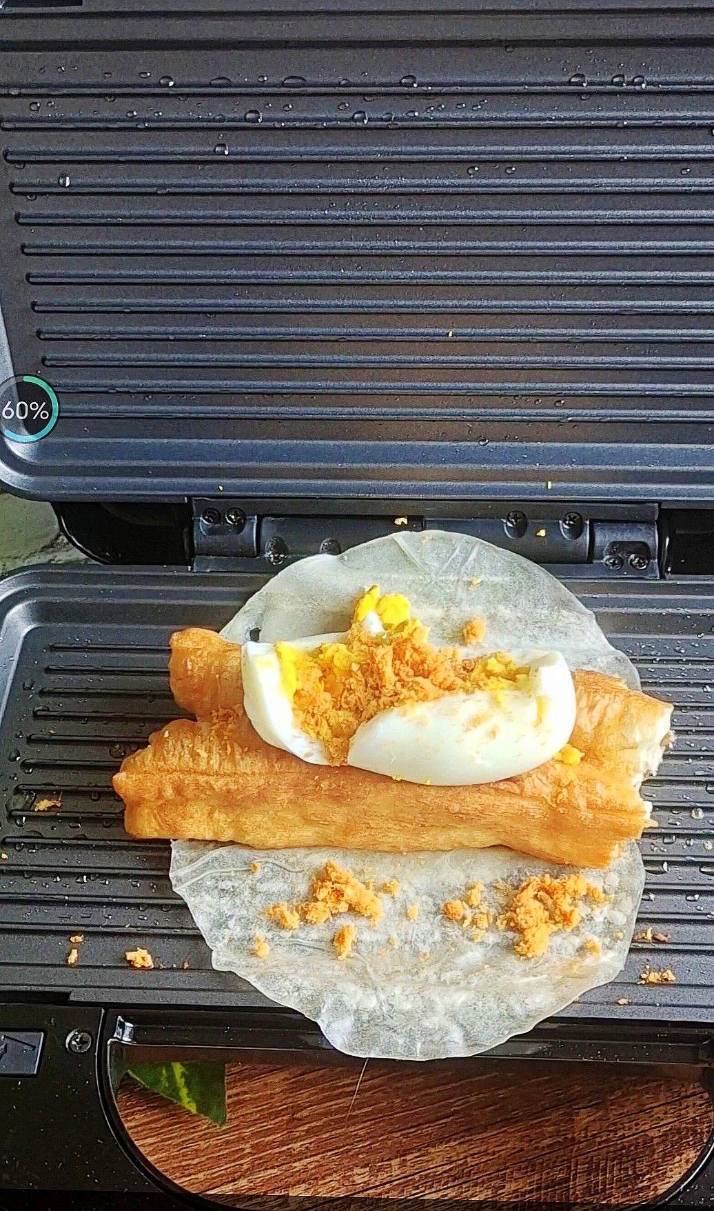 两种快手花样早餐饼,好吃又方便怎么煮