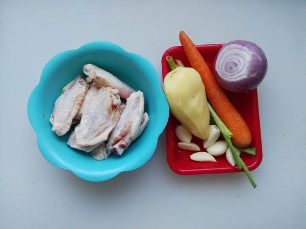 韩式辣炖鸡翅的步骤