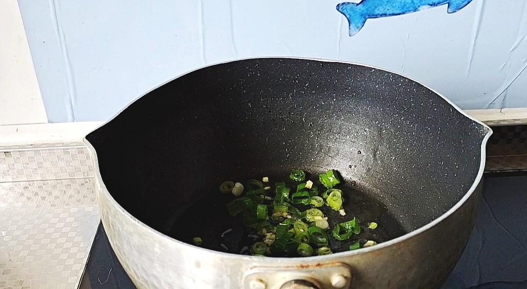 最美家常饭,怎么都吃不够~莜麦面疙瘩汤的步骤