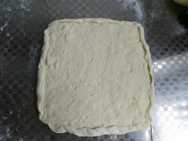 薄底榴莲披萨的步骤