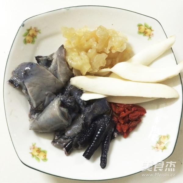 淮山枸杞炖花胶乌鸡汤面的做法大全