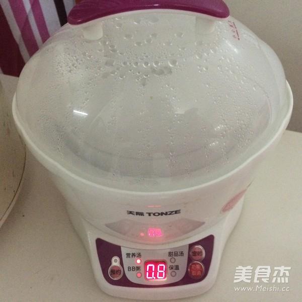 淮山枸杞炖花胶乌鸡汤面的家常做法