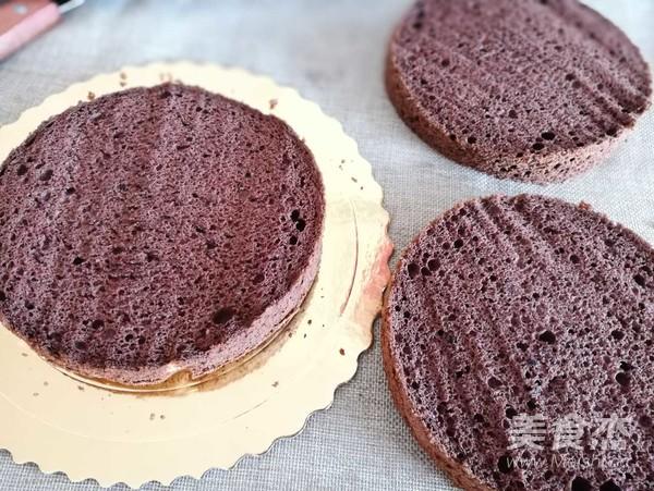 黑森林蛋糕的制作方法