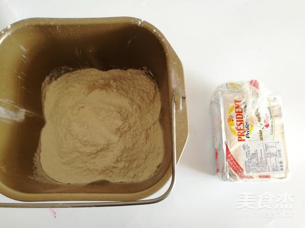 手撕花朵面包的做法大全