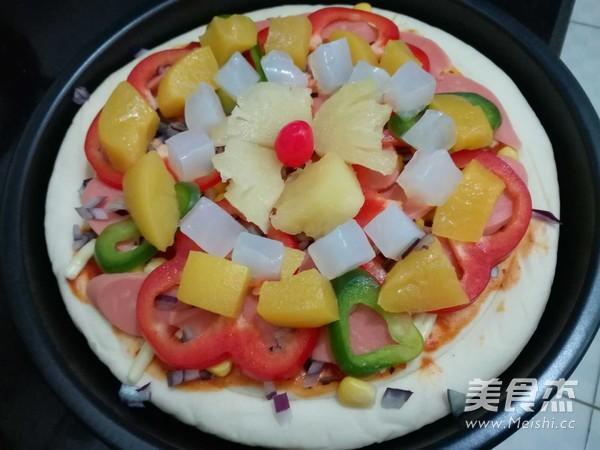 披萨怎么吃