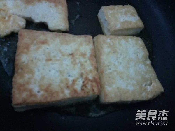 大葱炒豆腐的做法图解