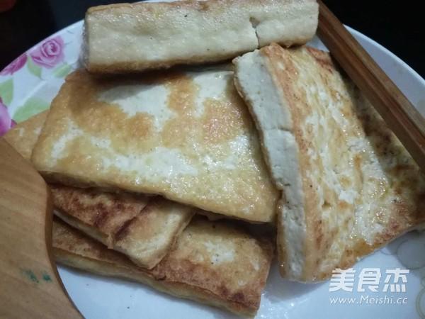 大葱炒豆腐的家常做法