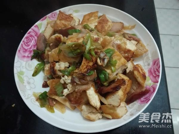 大葱炒豆腐怎么煮