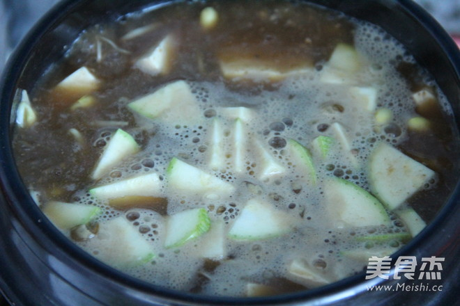 韩式酱汤的简单做法