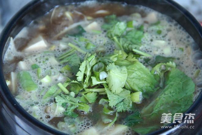 韩式酱汤怎么吃