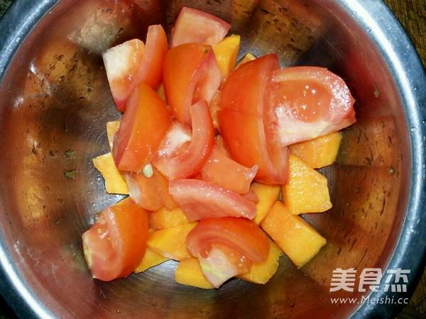 木瓜沙拉的步骤