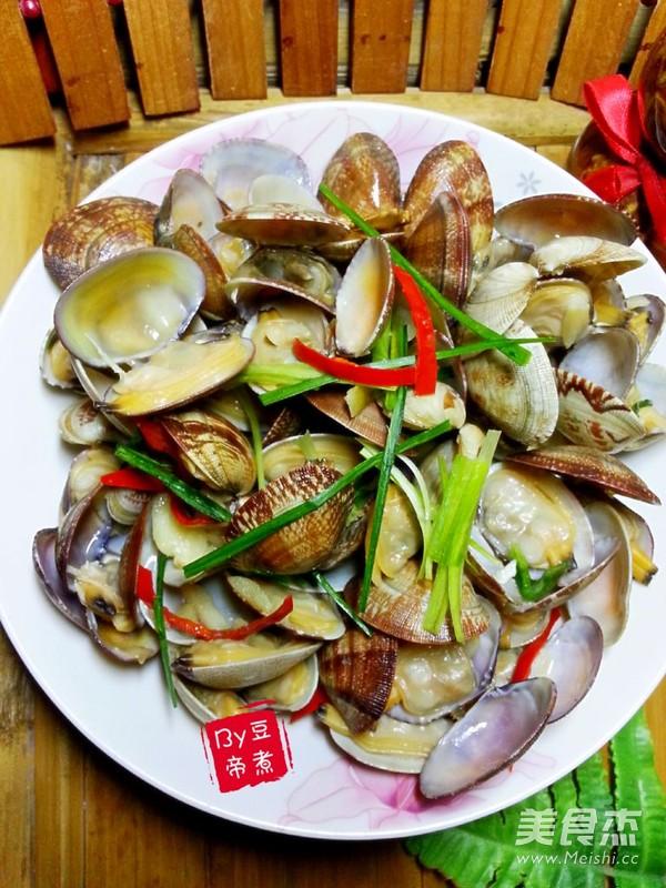 爆炒花蛤怎么炒