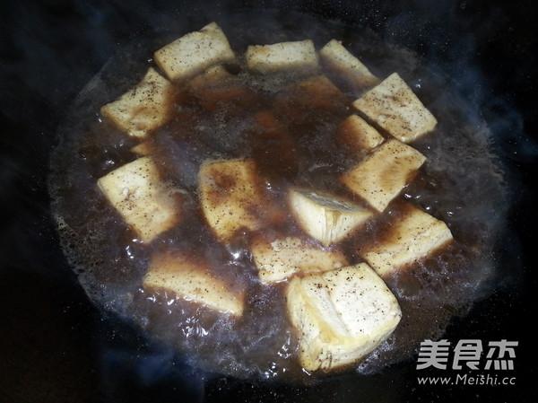 黑椒豆腐的简单做法