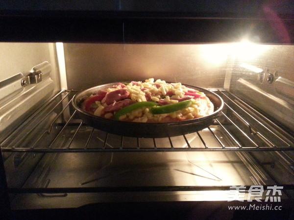 香肠比萨怎么炒