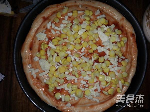 香肠比萨的简单做法