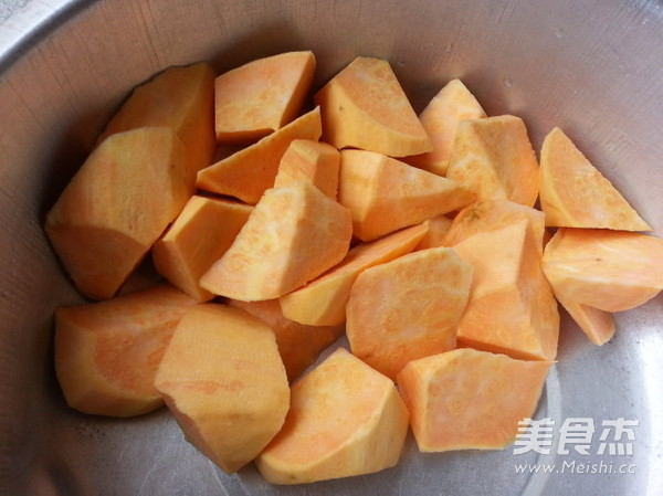 拔丝红薯的做法图解