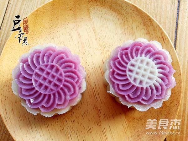 紫薯冰皮月饼怎样炖