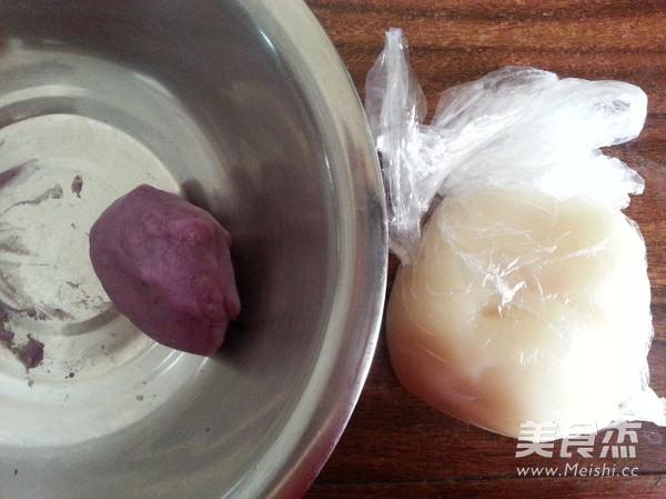 紫薯冰皮月饼怎么煮