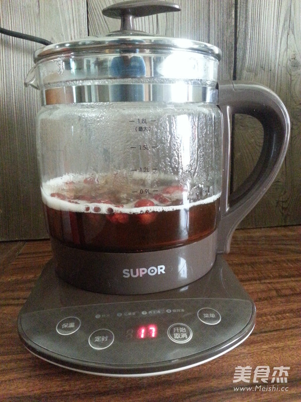 红糖姜枣茶的家常做法