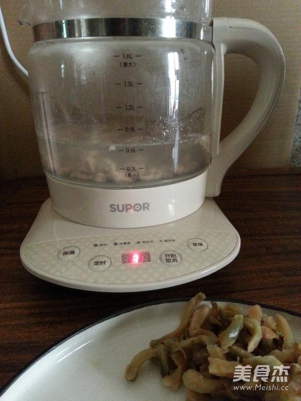 榨菜肉丝汤怎么吃